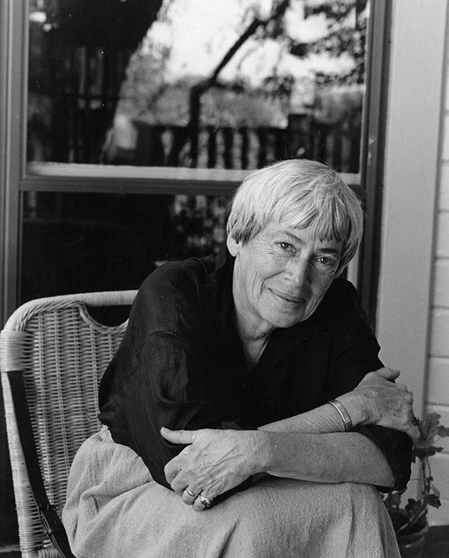 Ursula K. Le Guin Copyright © by Marian Wood Kolisch